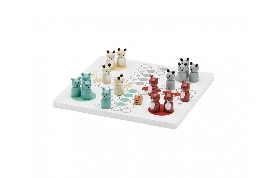KIDS CONCEPT Brettspiel Edvin Weiß 1000076 Holzspielzeug