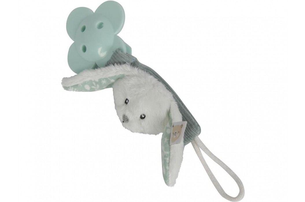 LITTLE DUTCH Adventure Schnullerkette Hase Mint 4611 Babyspielzeug