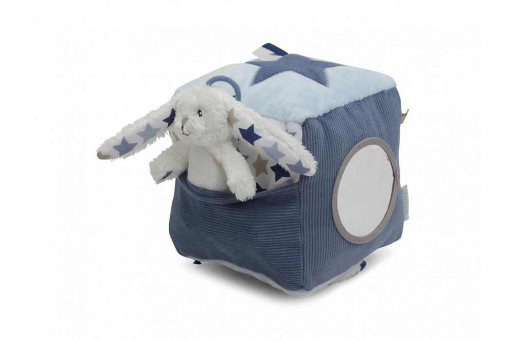 LITTLE DUTCH Mixed Stars Blue Activtiy Fühlwürfel Hase , 4349 Babyspielzeug