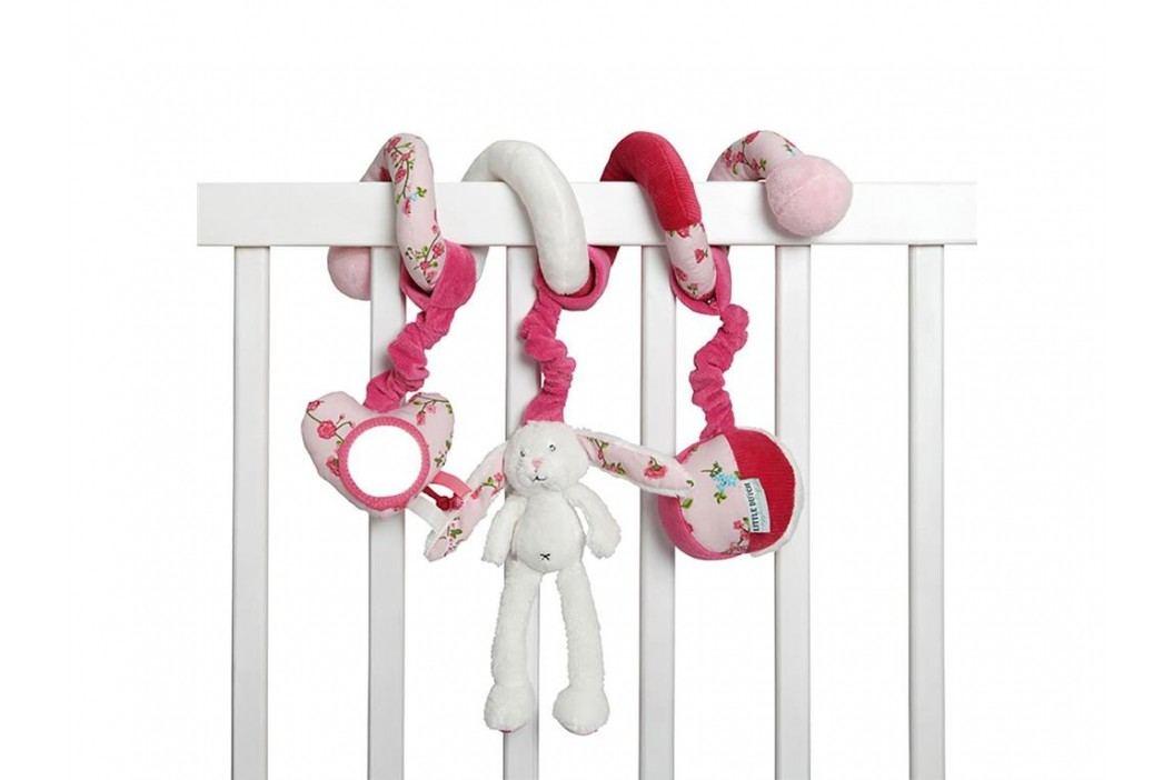 LITTLE DUTCH Pink Blossom Activity Spirale Hase , 4322 Babyspielzeug