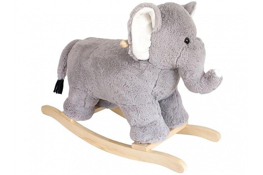 JABADABADO Holz Schaukelelefant Plüsch H14000 Spielzeug