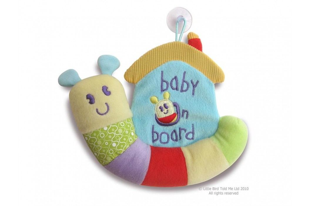 LITTLE BIRD TOLD ME , Activity Schnecke Baby on Board LB3019 Babyspielzeug