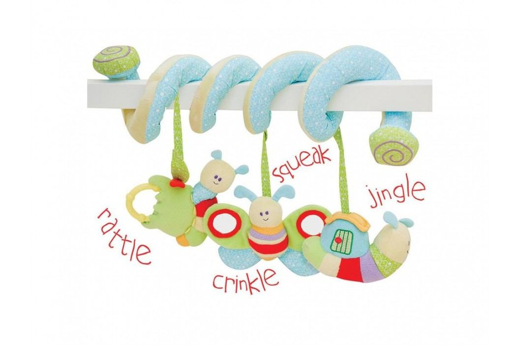 LITTLE BIRD TOLD ME , Baby-Activity Spirale Raupe LB3011 Babyspielzeug