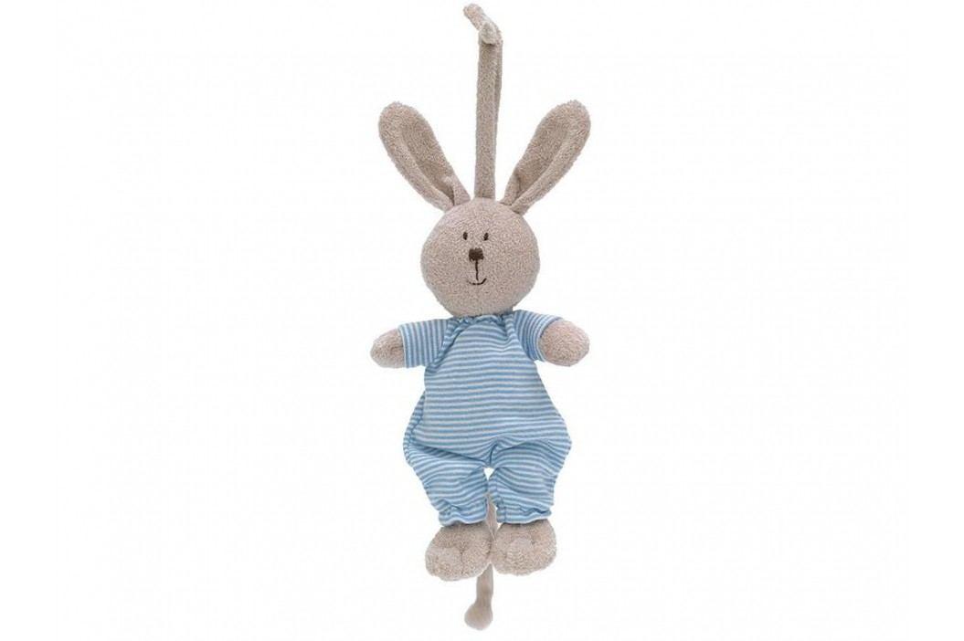 TEDDYKOMPANIET® Spieluhr Hase Alf 455117 Babyspielzeug