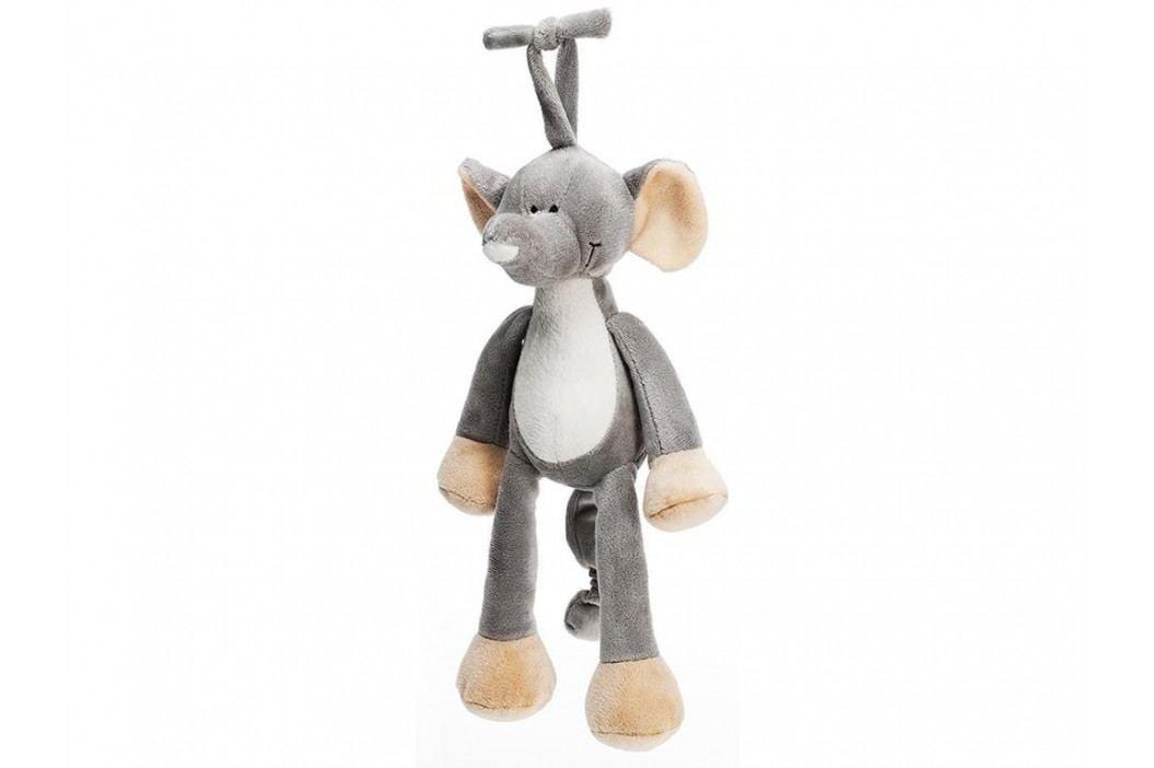 TEDDYKOMPANIET® Diinglisar Wild Spieluhr Elefant 4514892 Babyspielzeug