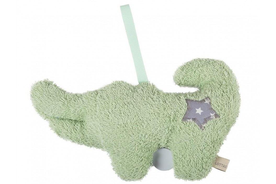 LOTTAS LABLE® Frottee Spieluhr Krokodil Kunori 29x18cm 6051-4 Babyspielzeug