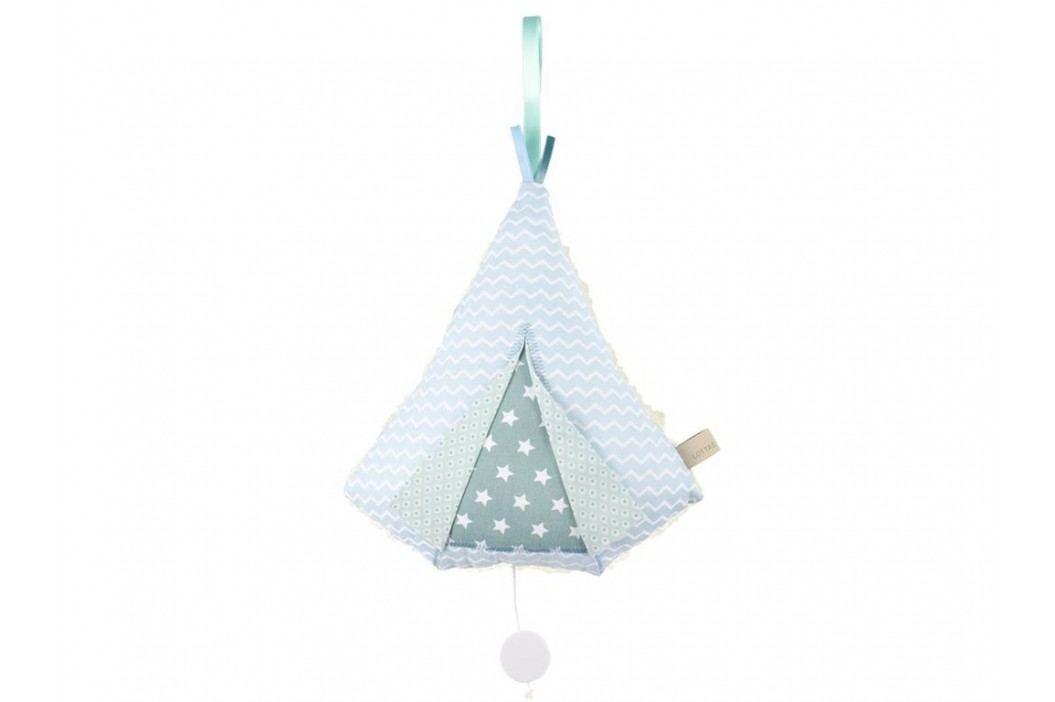 LOTTAS LABLE® Spieluhr Tipi Blau 6042-1 Babyspielzeug