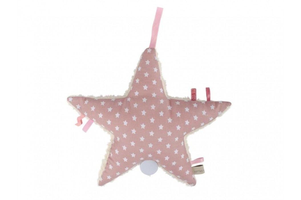 LOTTAS LABLE® Spieluhr Stern Aris Rose 6003-59 Babyspielzeug