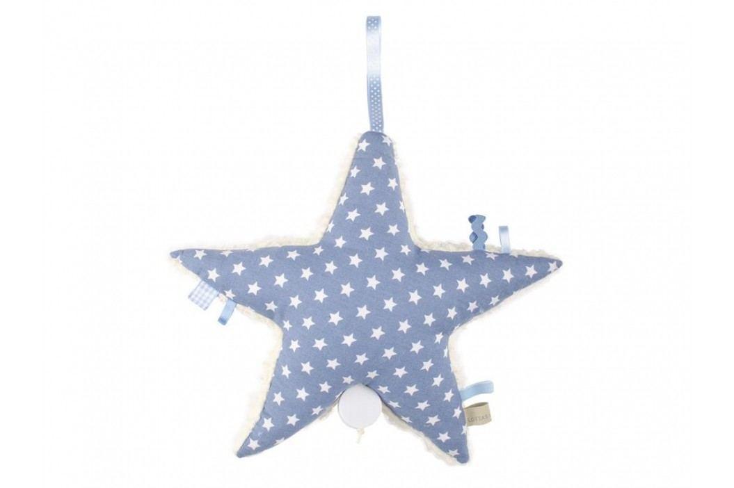 LOTTAS LABLE® Spieluhr Stern Aris Jeans 6003-57 Babyspielzeug