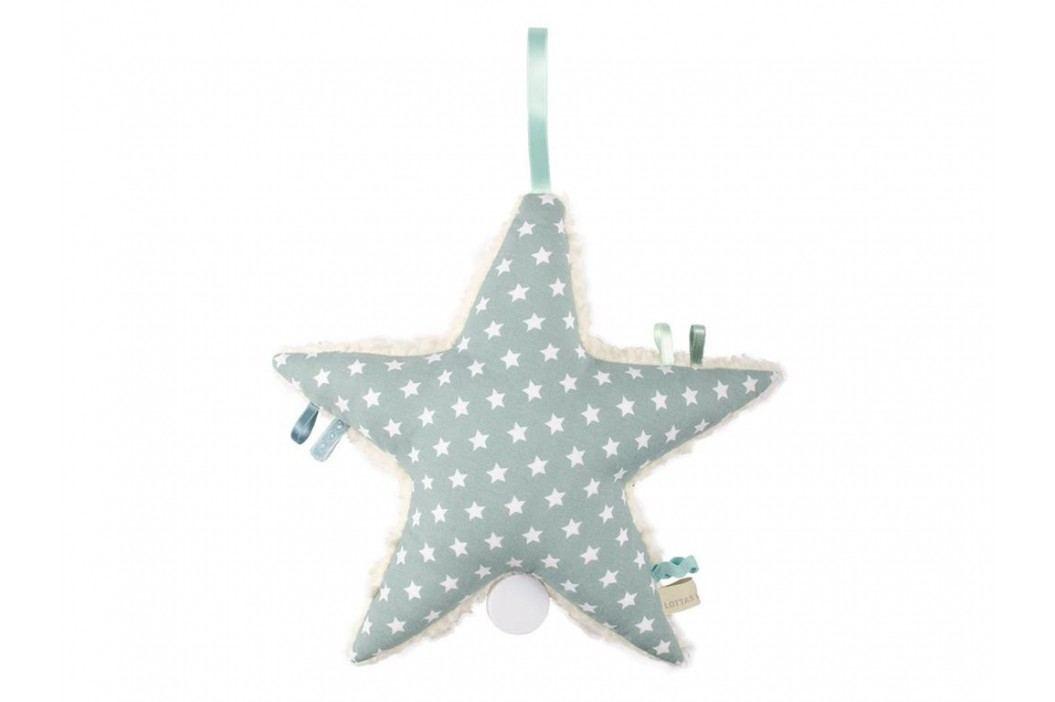 LOTTAS LABLE® Spieluhr Stern Aris Aquamarin 6003-52 Babyspielzeug