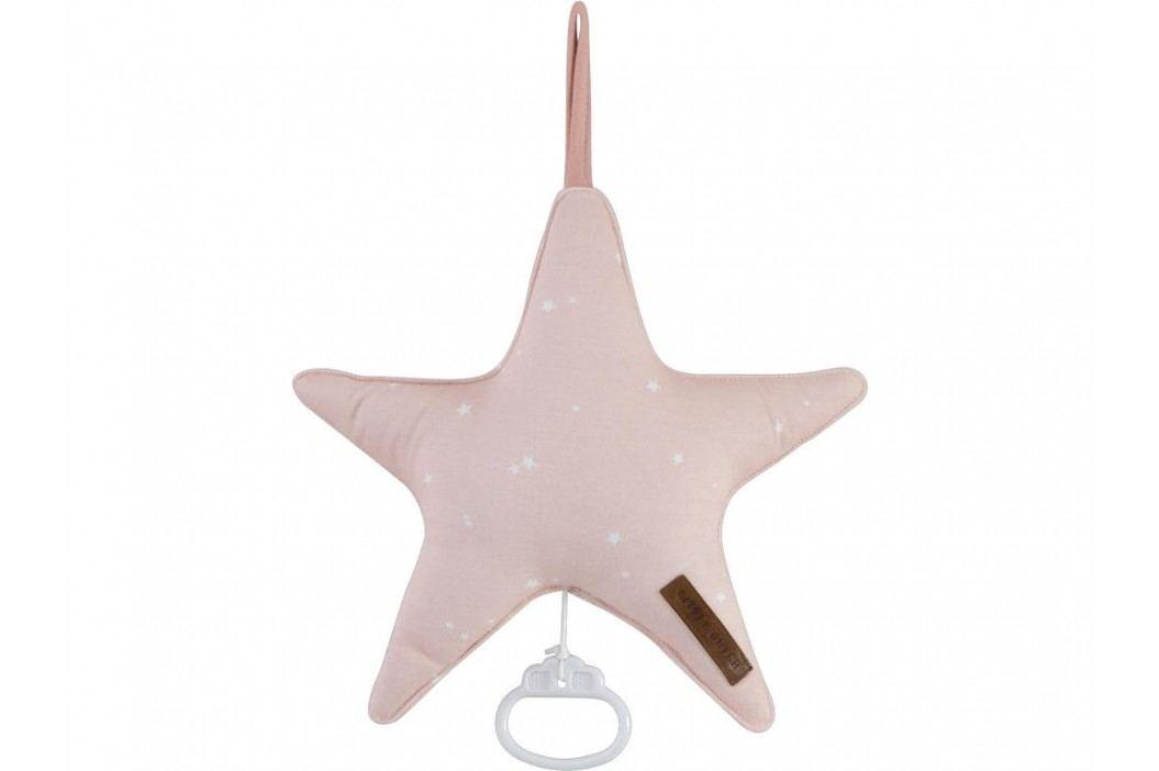 LITTLE DUTCH Little Stars Spieluhr Pink 5251 Babyspielzeug