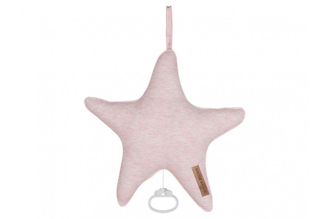 LITTLE DUTCH Peach Melange Spieluhr Stern , 5232 Babyspielzeug