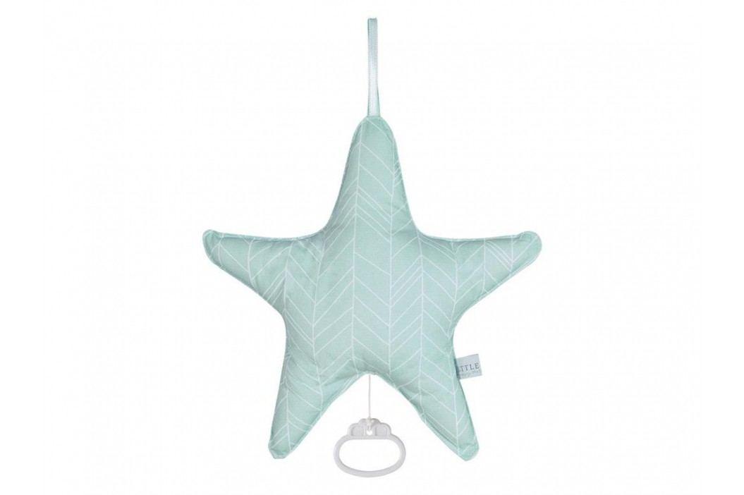 LITTLE DUTCH Mint Leaves Spieluhr Stern , 5224 Babyspielzeug
