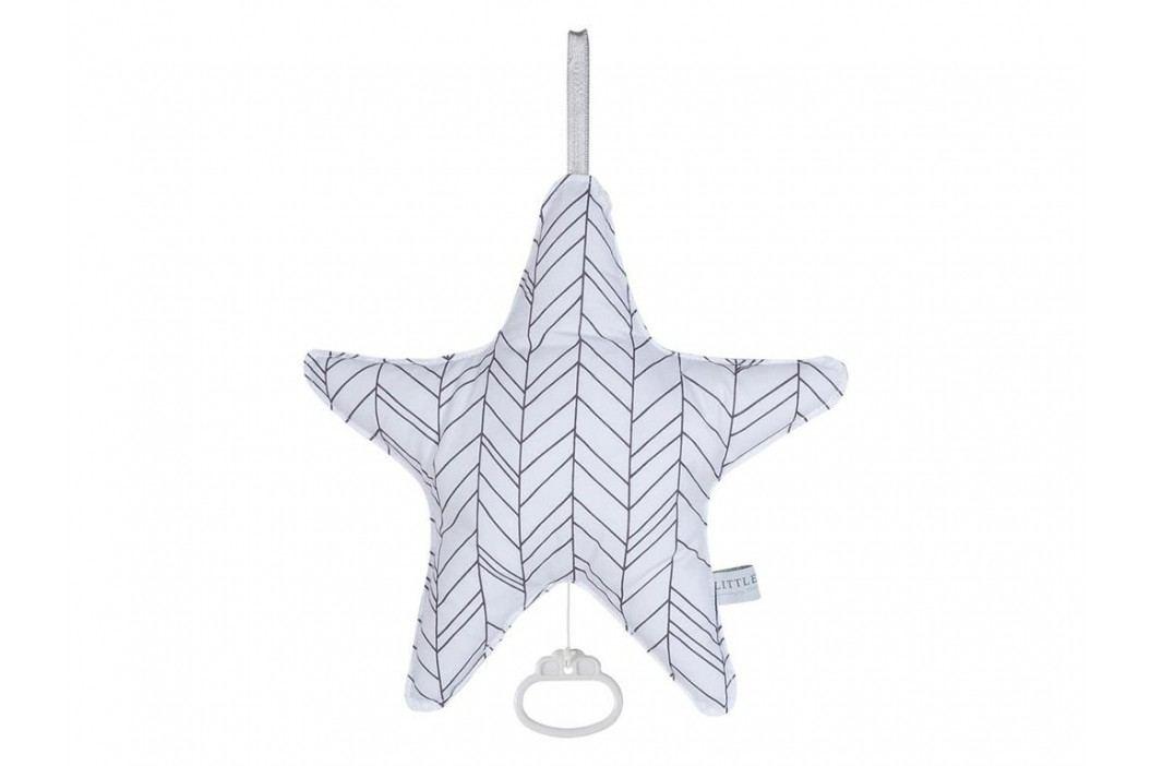 LITTLE DUTCH White Leaves Spieluhr Stern , 5212 Babyspielzeug