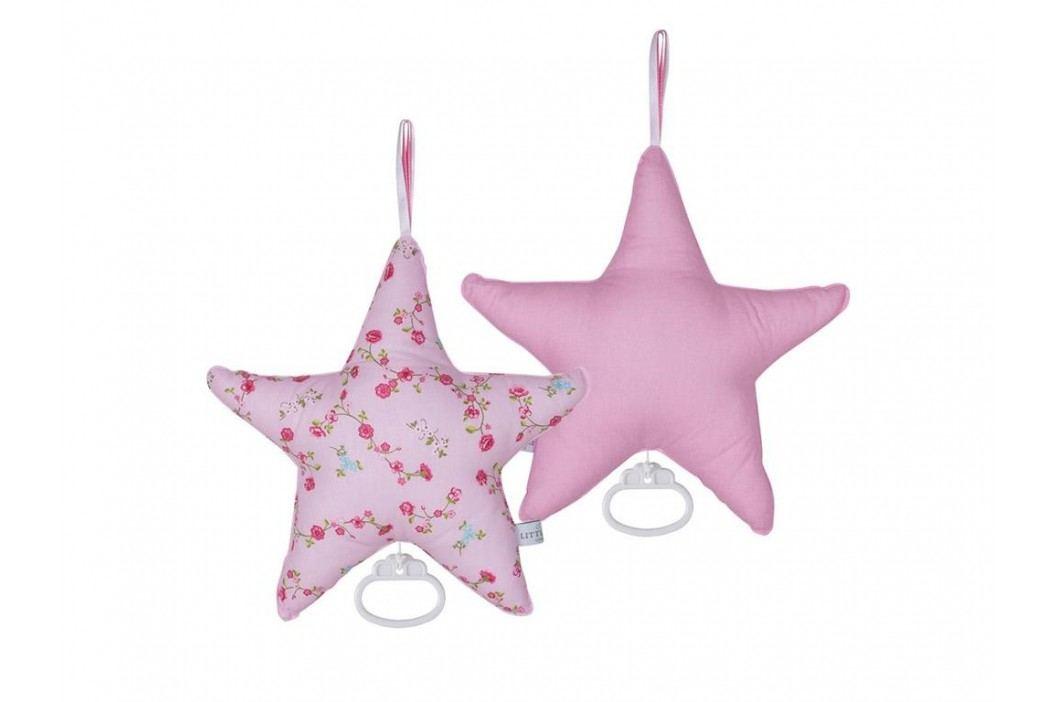 LITTLE DUTCH Pink Blossom Spieluhr Stern , 5201 Babyspielzeug