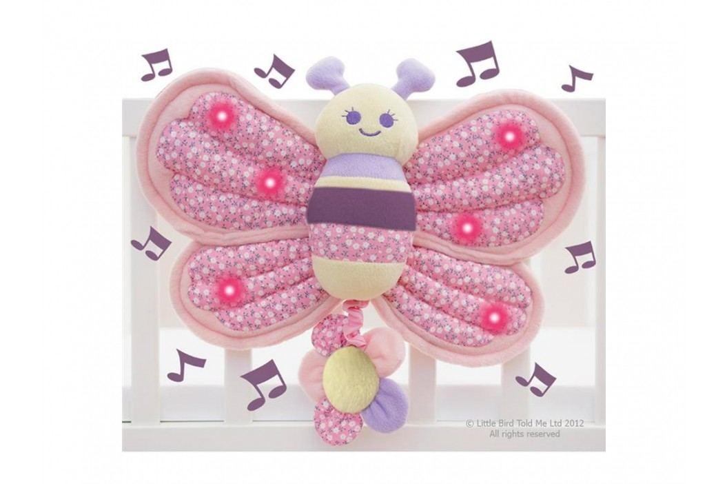 LITTLE BIRD TOLD ME , Spieluhr Schmetterling mit leuchtenden Flügeln LB3013 Babyspielzeug