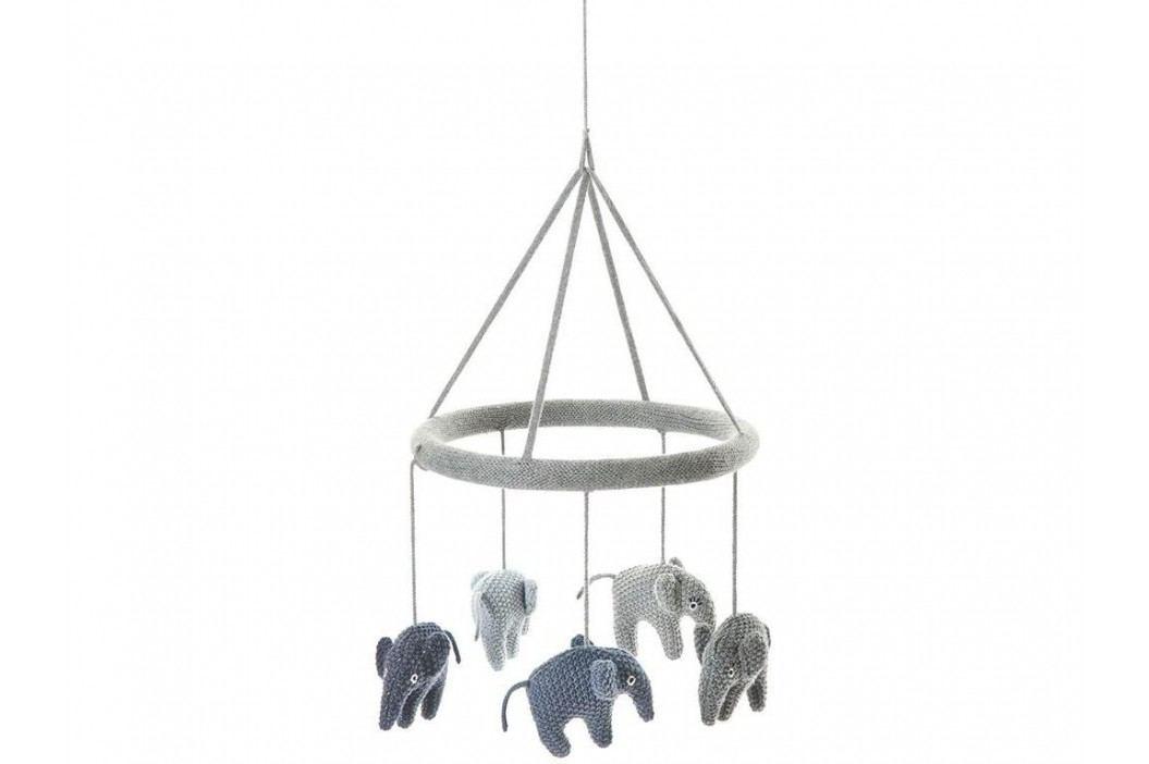 LIFETIME Kidsroom Mobile Elefant Grey/Blue S40007-18 Babyspielzeug