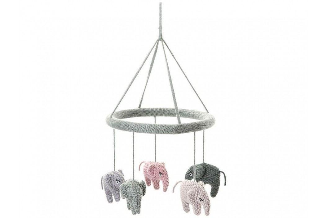 LIFETIME Kidsroom Mobile Elefant Blue Rose/Powder S40007-17 Babyspielzeug