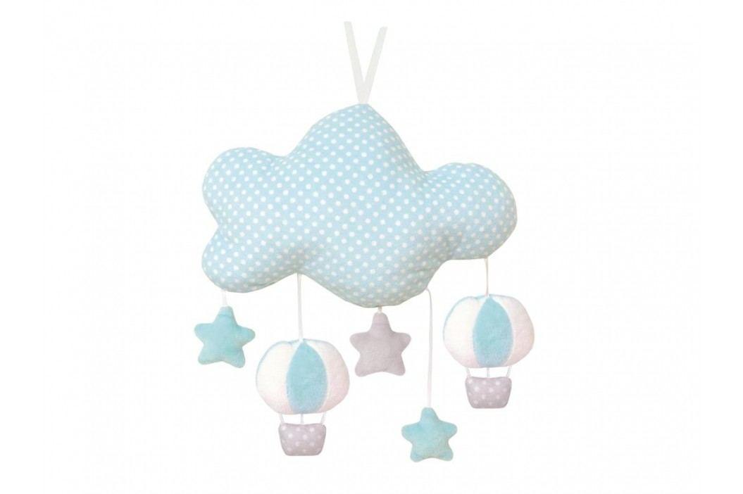 JABADABADO Musik Stoffmobile Wolke Hellblau N0101 Babyspielzeug