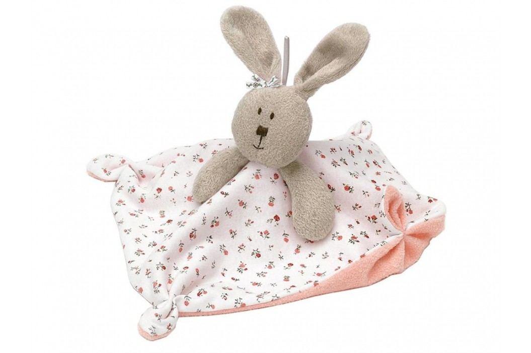 TEDDYKOMPANIET® Schmusetuch Hase Fanny 455112 Spielzeug