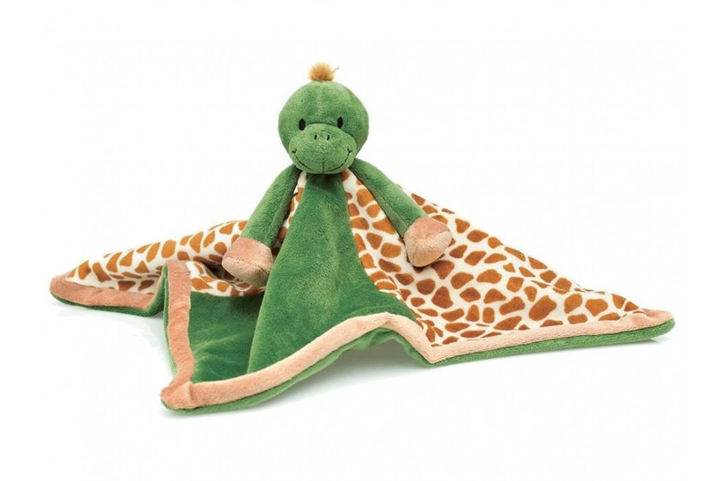 TEDDYKOMPANIET® Diinglisar Schmusetuch Schildkröte 454035 Spielzeug