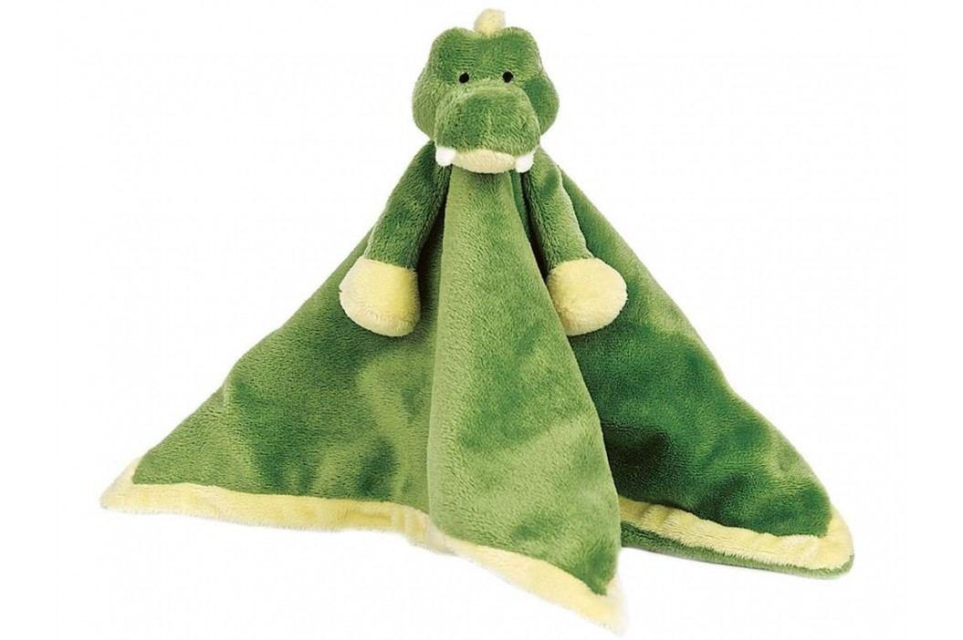 TEDDYKOMPANIET® Diinglisar Schmusetuch Krokodil 454023 Spielzeug