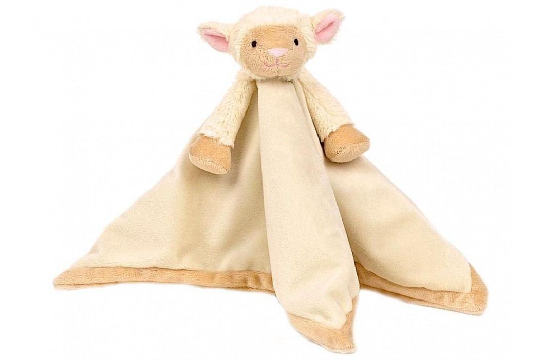 TEDDYKOMPANIET® Diinglisar Schmusetuch Lamm 454017 Spielzeug