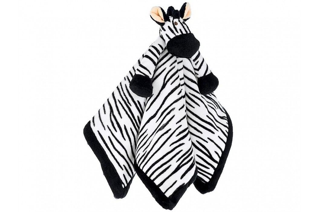 TEDDYKOMPANIET® Diinglisar Schmusetuch Zebra 454011 Spielzeug