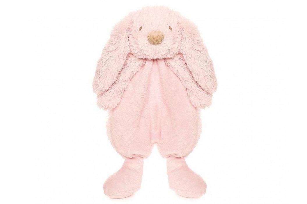 TEDDYKOMPANIET® Lolli Bunnies Schmusetuch Rosa 452407 Spielzeug