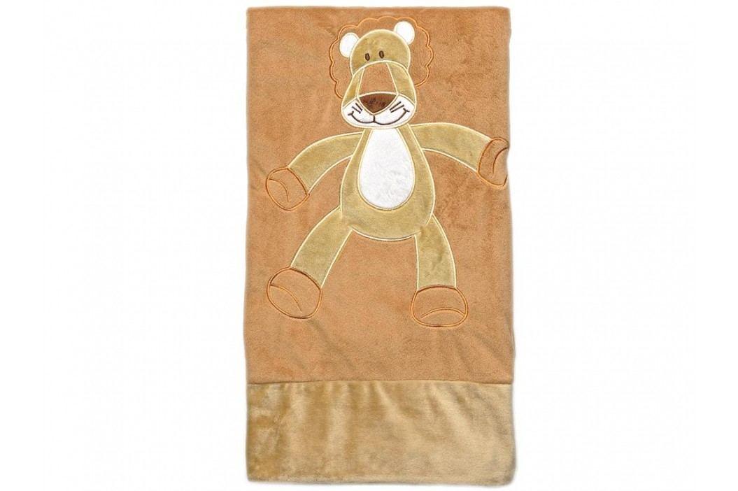 TEDDYKOMPANIET® Diinglisar Wild Schmusetuch Löwe Groß 4517111 Spielzeug