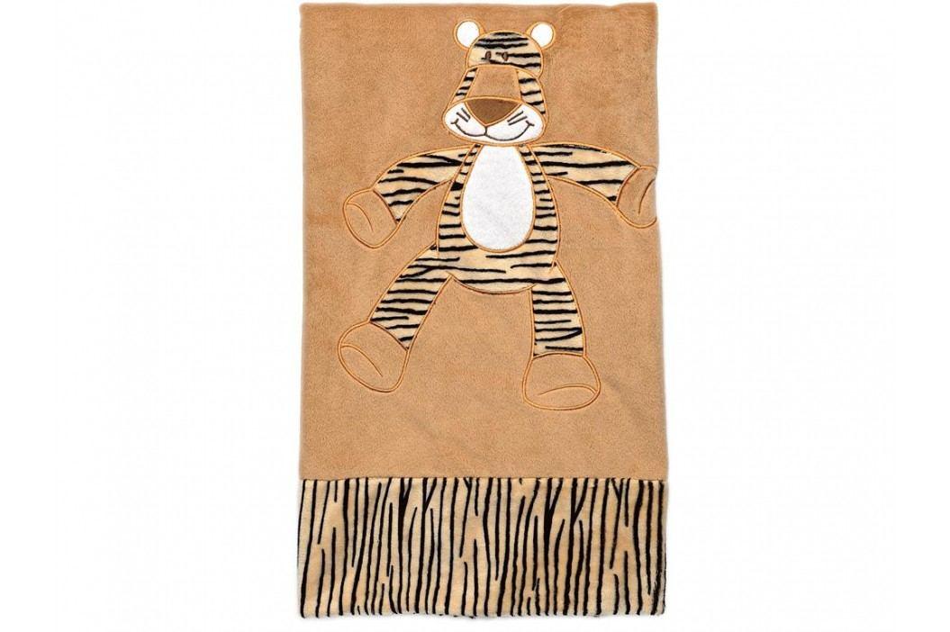 TEDDYKOMPANIET® Diinglisar Wild Schmusetuch Tiger Groß 4517102 Spielzeug