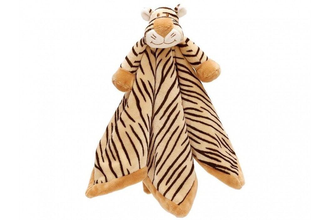 TEDDYKOMPANIET® Diinglisar Wild Schmusetuch Tiger 4514872 Spielzeug