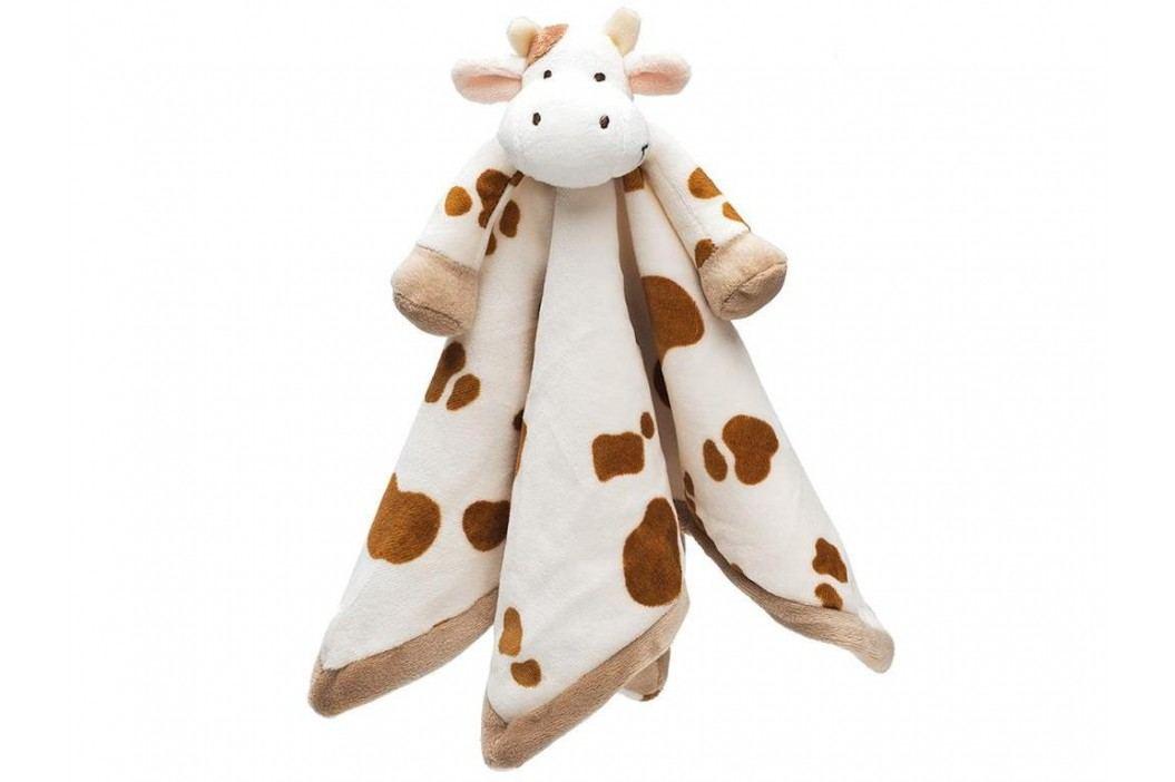 TEDDYKOMPANIET® Diinglisar Schmusetuch Kuh 4513723 Spielzeug