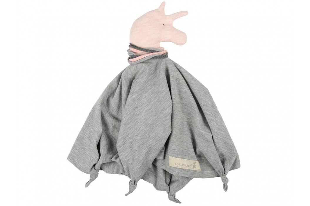 LOTTAS LABLE® Jersey Schmusetuch Big TAITA Grau 45x45cm 4962-24 Spielzeug