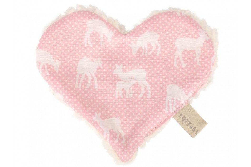 LOTTAS LABLE® Knistertuch Herz Linda Lou Fawn 4601-7 Spielzeug
