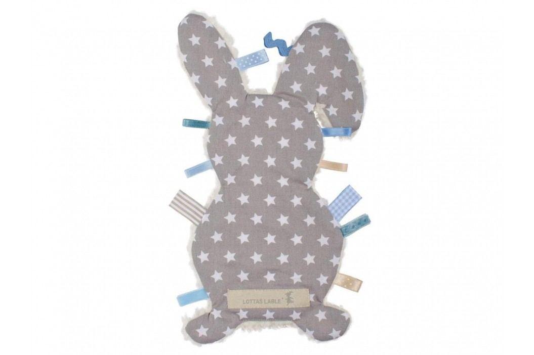 LOTTAS LABLE® Fühltuch Hase Pijaka Star Anthrazit 4017-56 Spielzeug