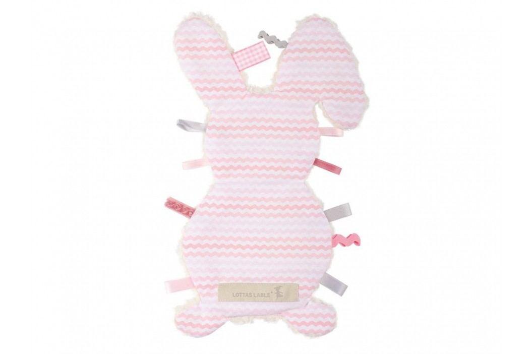 LOTTAS LABLE® Fühltuch Hase Pijaka Rosa 4017-5 Spielzeug
