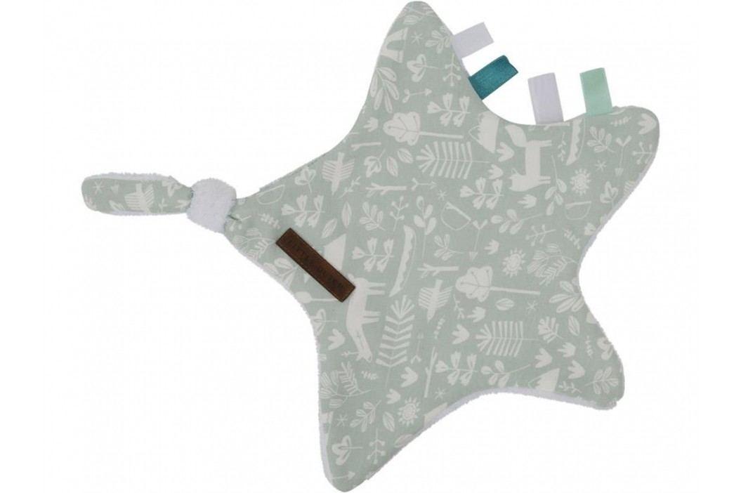 LITTLE DUTCH Adventure Kuscheltuch Stern Mint 6377 Spielzeug