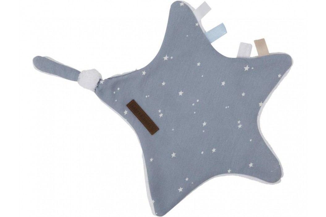 LITTLE DUTCH Little Stars Kuscheltuch Stern Blue 6349 Spielzeug