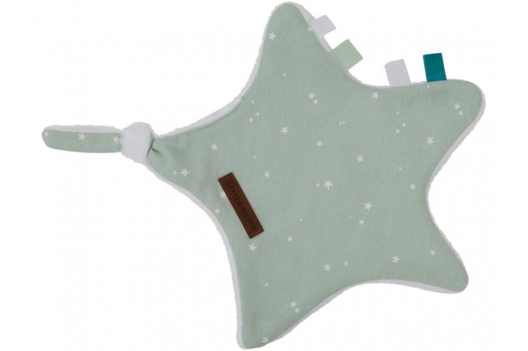 LITTLE DUTCH Little Stars Kuscheltuch Stern Mint 6343 Spielzeug