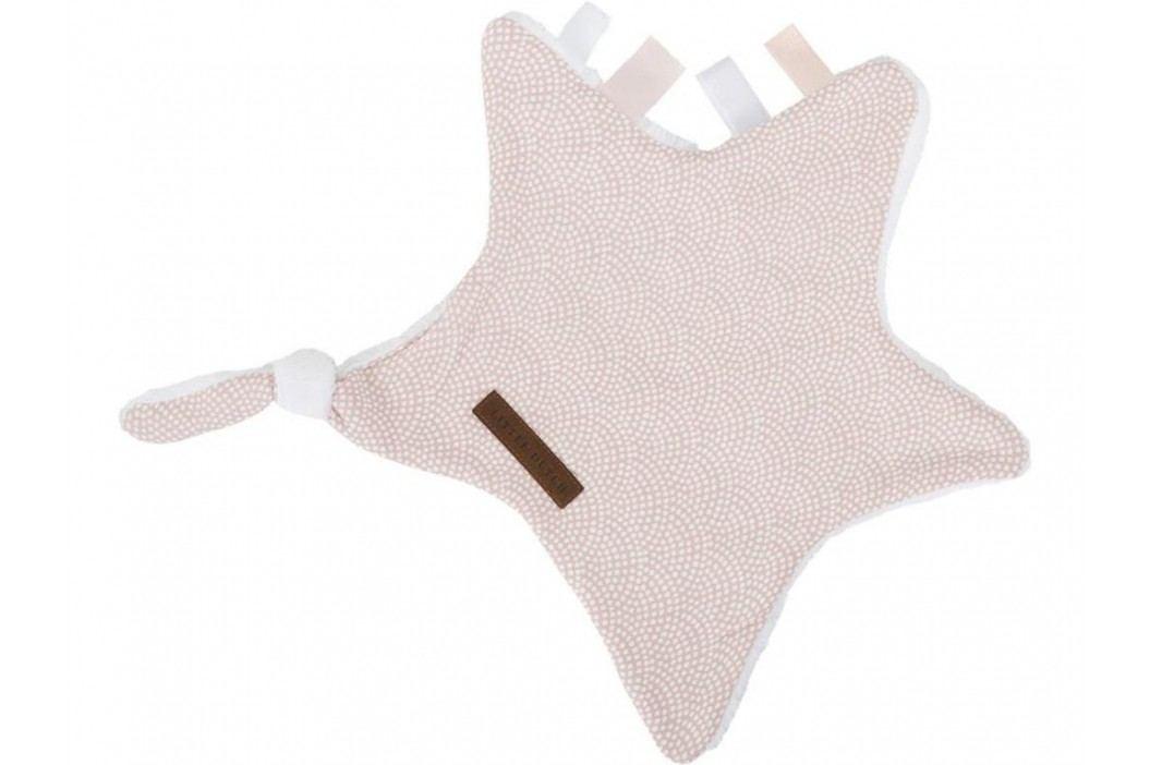 LITTLE DUTCH Waves Kuscheltuch Stern Pink 6336 Spielzeug