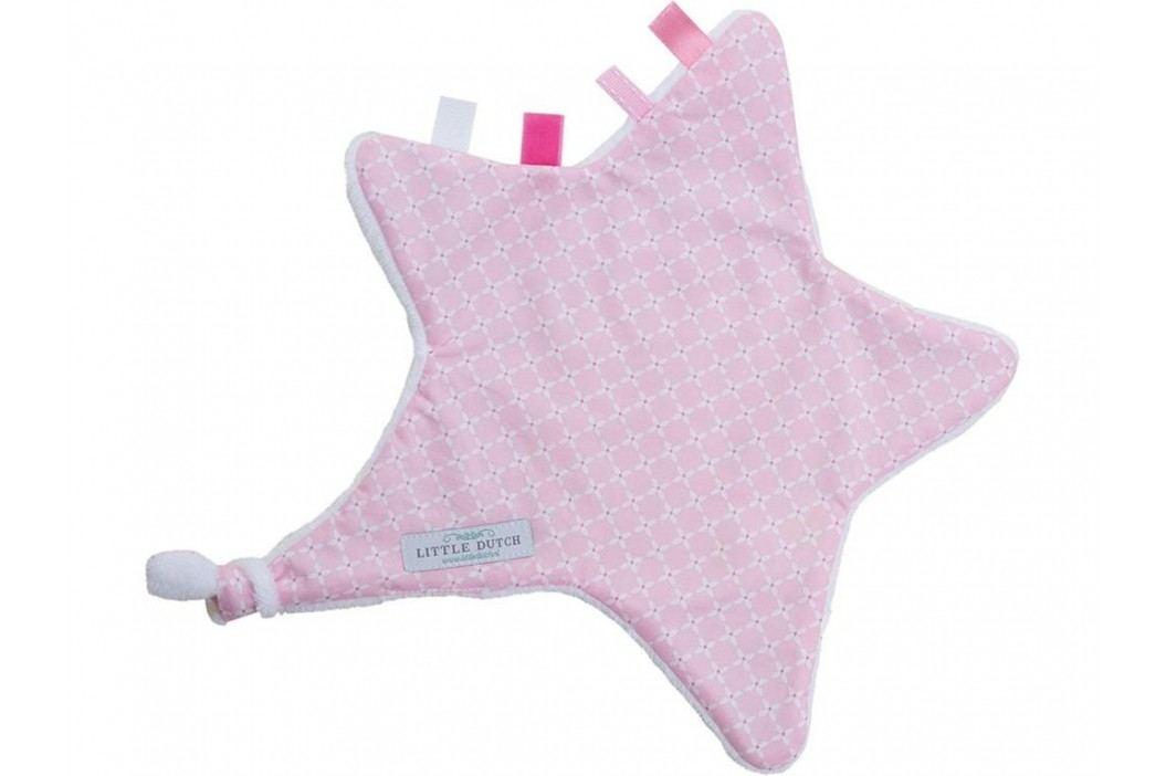 LITTLE DUTCH Sweet Pink Kuscheltuch Stern 6309 Spielzeug