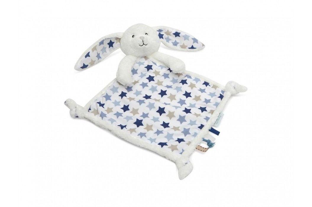 LITTLE DUTCH Mixed Stars Blue Kuscheltuch Hase , 4342 Spielzeug