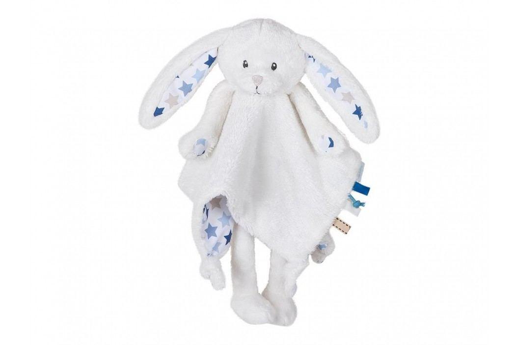 LITTLE DUTCH Mixed Stars Blue Kuscheltuch Hase Groß , 4335 Spielzeug