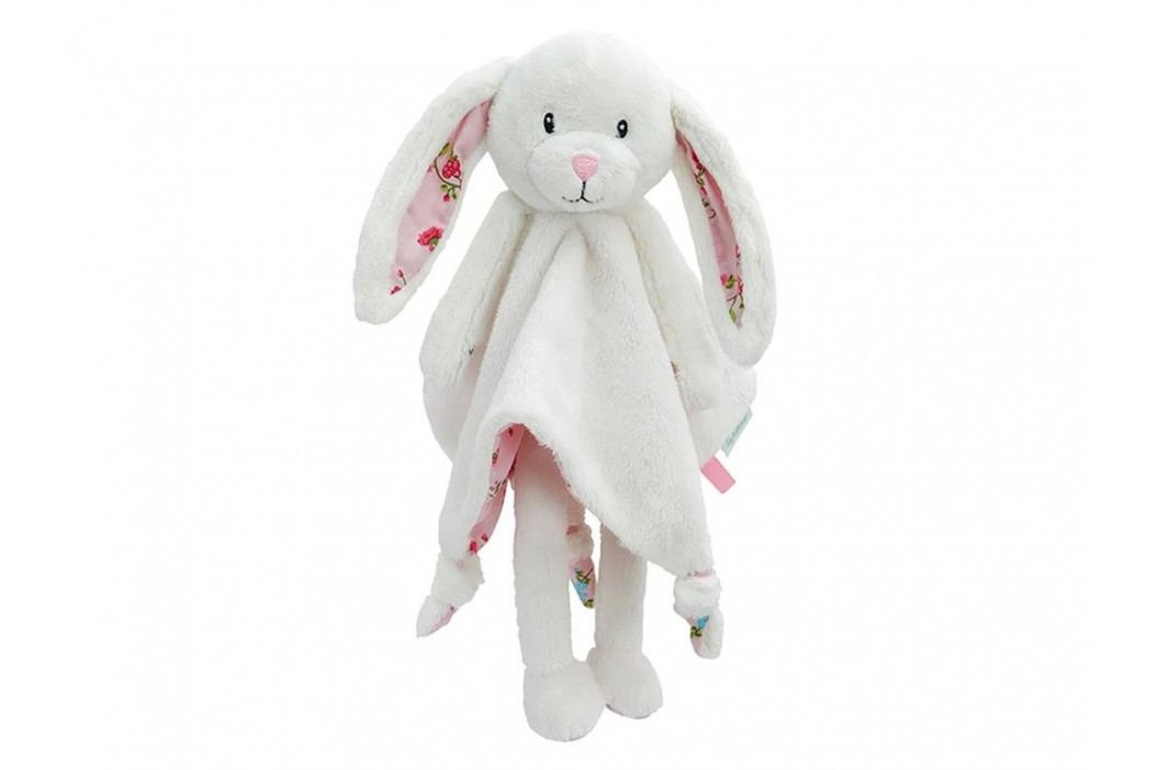LITTLE DUTCH Pink Blossom Kuscheltuch Hase Groß , 4302 Spielzeug