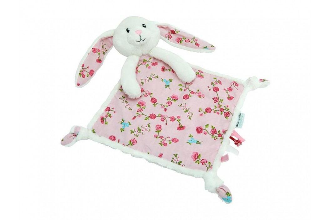 LITTLE DUTCH Pink Blossom Kuscheltuch Hase , 4300 Spielzeug