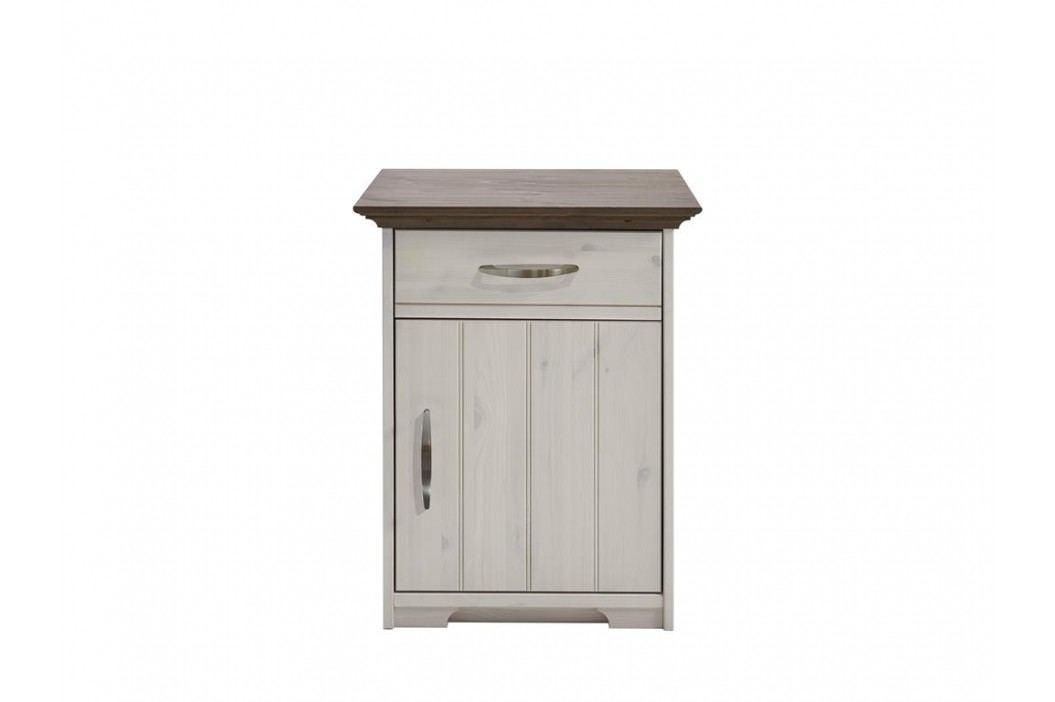 STEENS Hanstholm Nachttisch mit 1 Schublade und Tür 3650100269000F Nachttische
