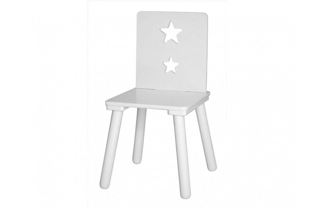 KIDS CONCEPT Kinderstuhl Star Weiß 700364 Kinderstühle