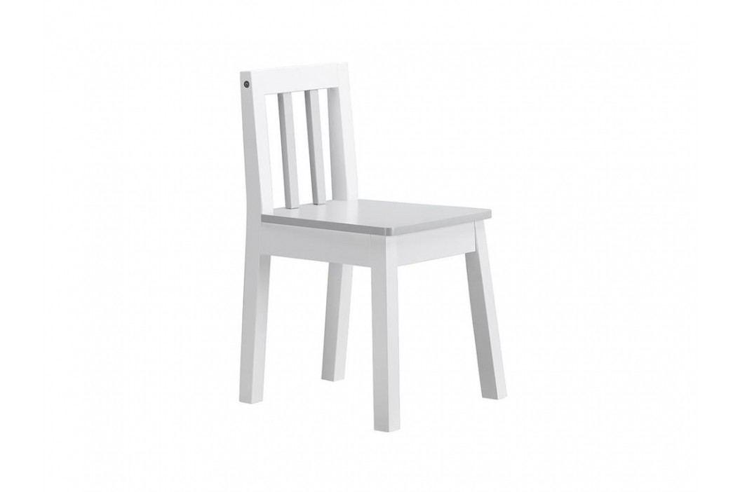 KIDS CONCEPT Stuhl Weiß Grau Line 120000 Kinderstühle