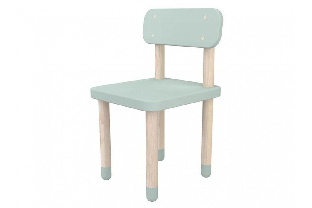 FLEXA Play Stuhl mit Rückenlehne Mintgrün 82-10059-79 Kinderstühle